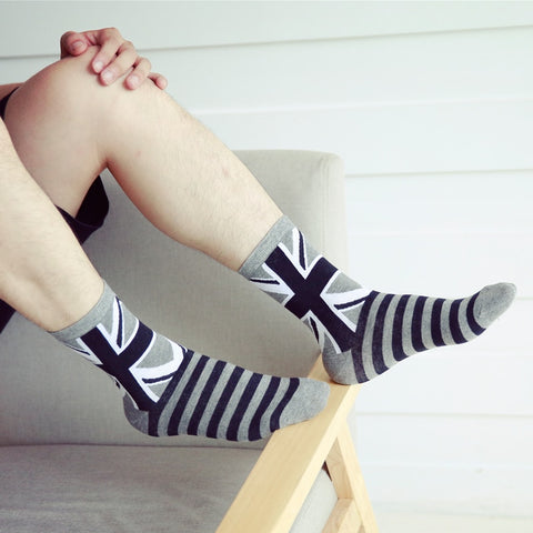 Striped Flag Socks