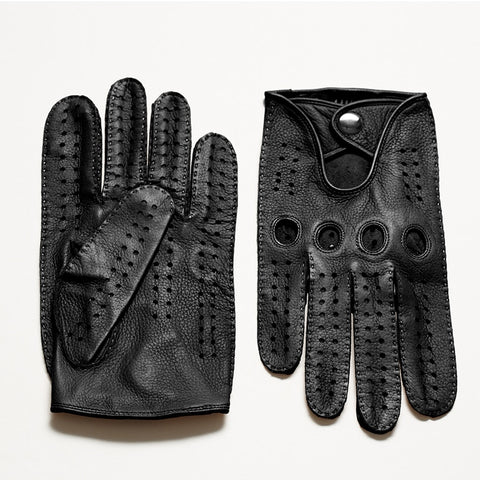 Leather Sheepskin Gloves