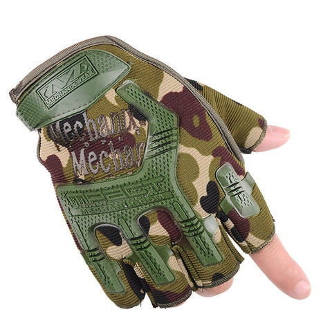 Tactical Half Finger Gloves