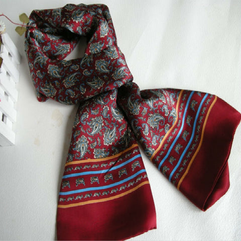 Image of Vintage Pure Silk Scarf