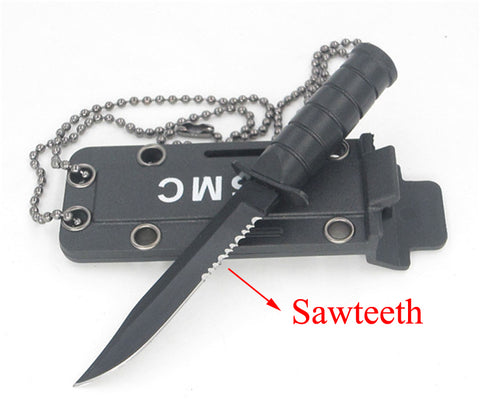 Image of Portable Mini Military Necklace Pocketknife