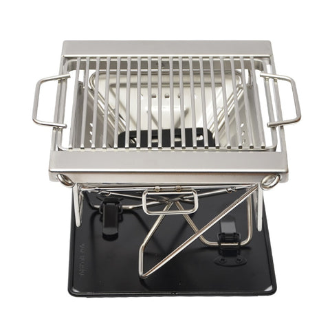 Stainless Steel Charcoal Folding Portable Grill
