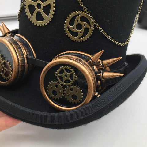 Steam Era Punk Style Hat