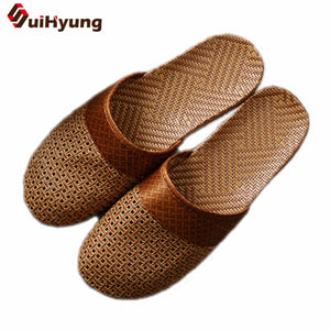 Breathable Non-slip Weave Male Sandals Beach Flip Flops