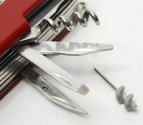 Multifunction Folding Swiss Pocketknife