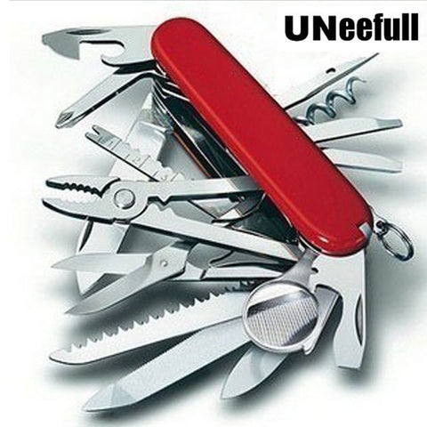 Image of Multifunction Folding Swiss Pocketknife