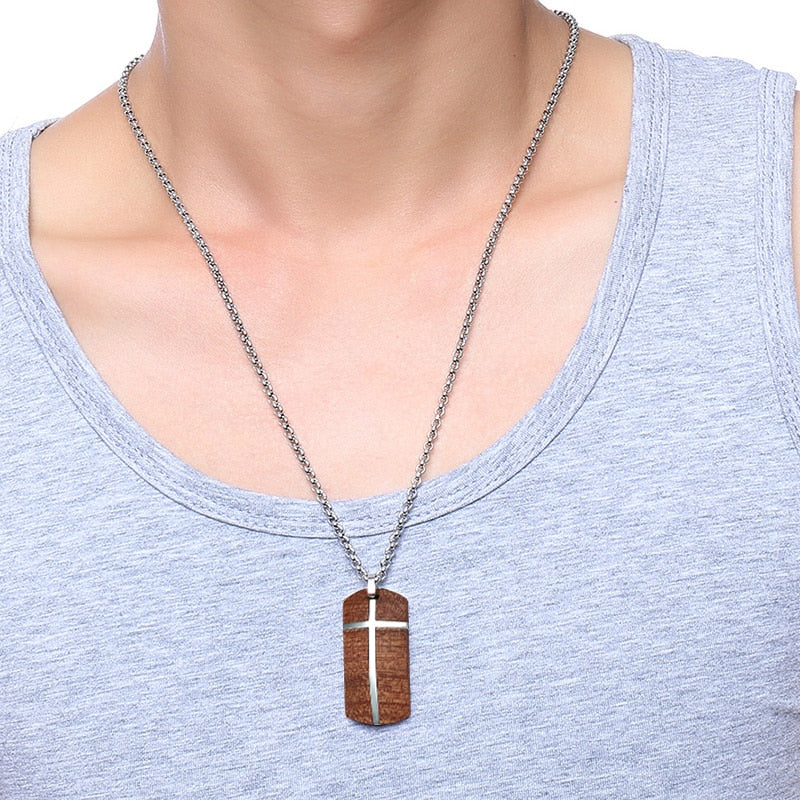 Hand Crafted Rosewood Necklace