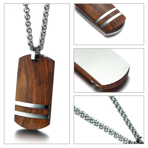 Top Rosewood Necklace