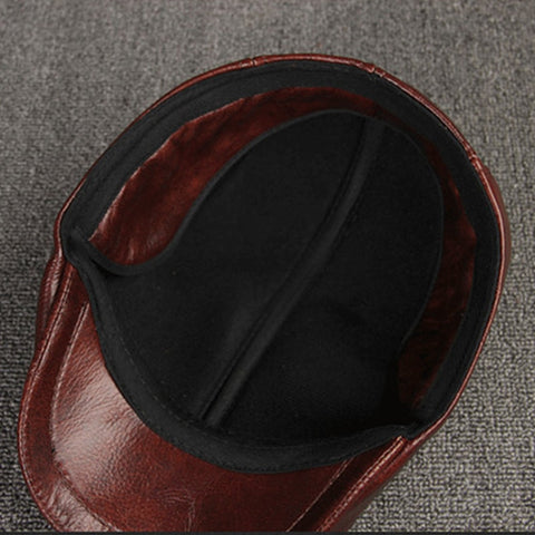 Image of Cowhide Leather Hat