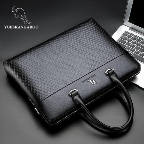 Image of Leather Business Briefcase