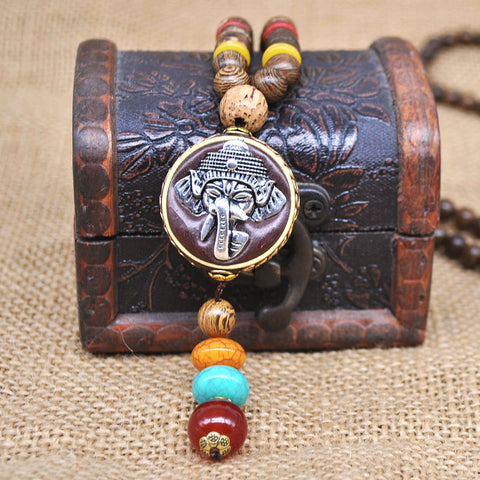 Image of Handmade Nepal Necklace