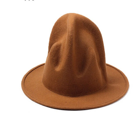 Image of Felt Fedora Top Hat