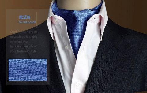 Image of British Business Men Ascot Scarf Ties