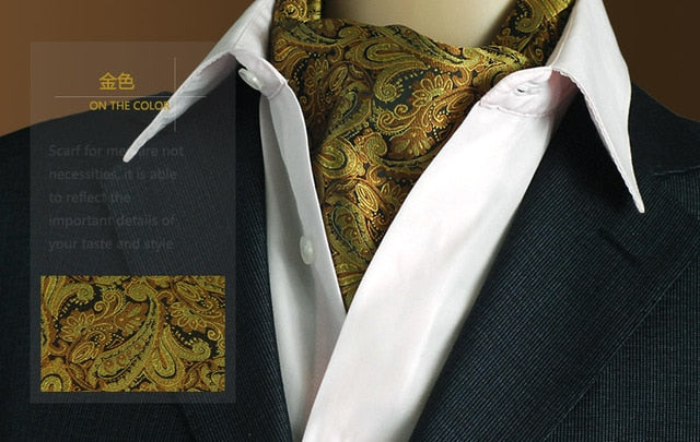 British Business Men Ascot Scarf Ties