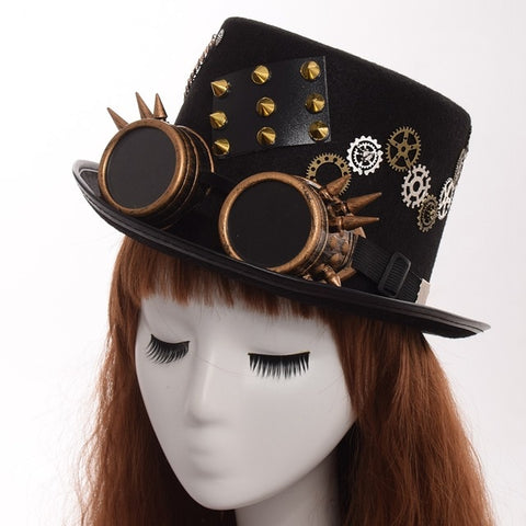 Gothic Vintage Steam Punk Hat