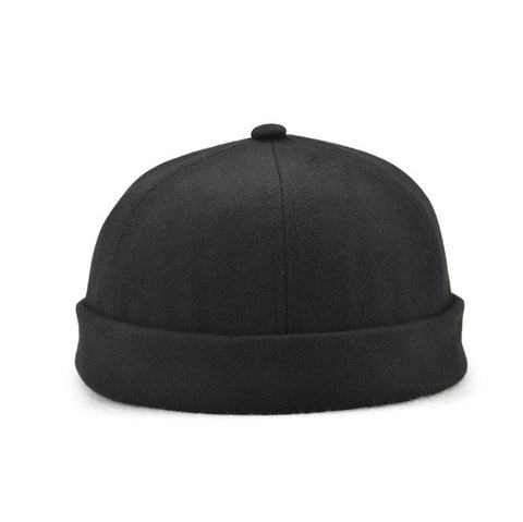 Cotton Beanie Adjustable Skullcap in 5 Classic Colors