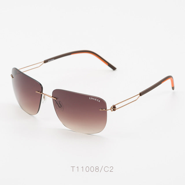 Metal Luxury Brand Sunglasses