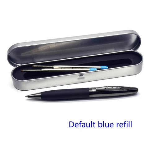 Image of Leather Metal Case Ballpoint Pen