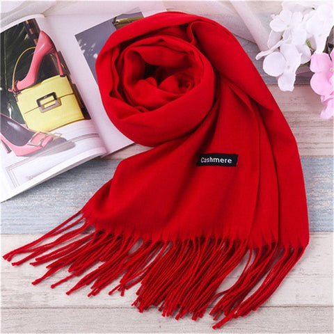 Image of Wool Cashmere Scarf