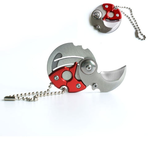 Pocket Fold Key Chain Pocketknife