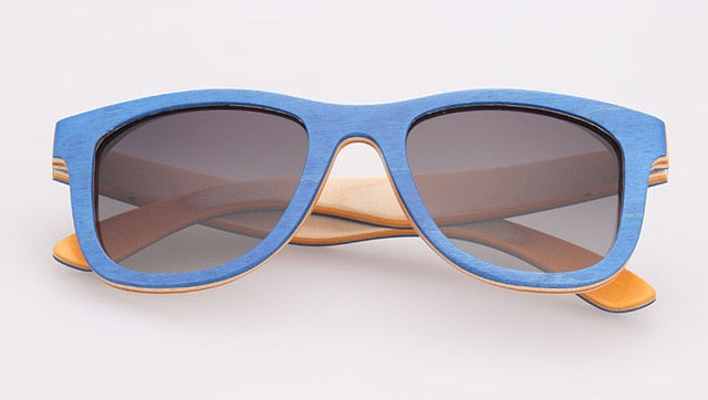 Skateboard Wood Sunglasses