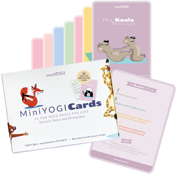 MiniYOGI cards are available for pre-order!