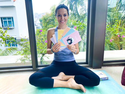 Sophie Spoor from So Yoga, presents new kids yoga cards
