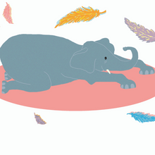 Load image into Gallery viewer, Kids Yoga Book - MiniYOGI 1: The Elephant of Wisdom