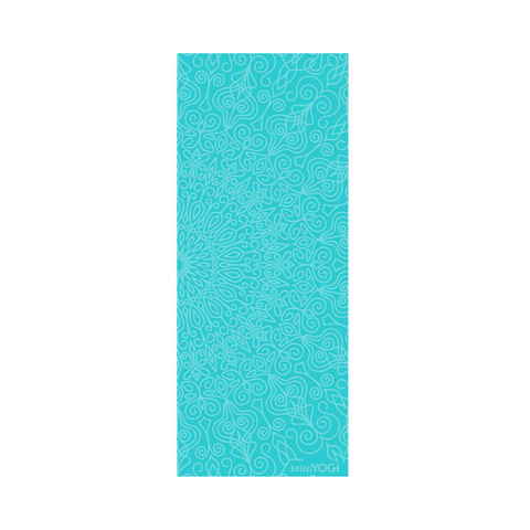 MiniYOGI Kids Yoga Mat - Peer Blue