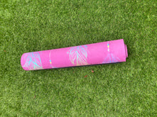 Load image into Gallery viewer, MiniYOGI Suede Yoga Mat - Feathers Design - for kids and adults