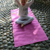 MiniYOGI Kids Yoga Mat - Feathers