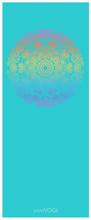 Load image into Gallery viewer, MiniYOGI Suede Yoga Mat - Mandala Design - for kids and adults