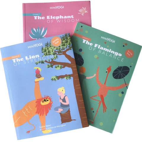Kids yoga books - MiniYOGI collection