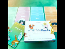 Load and play video in Gallery viewer, MiniYOGI Box of 50 kids yoga cards