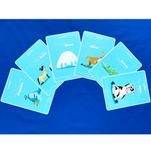 Load image into Gallery viewer, MiniYOGI Box of 50 kids yoga cards