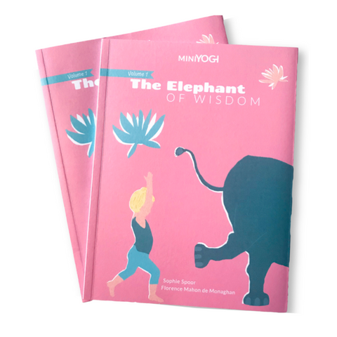 Kids Yoga Book - MiniYOGI 1: The Elephant of Wisdom