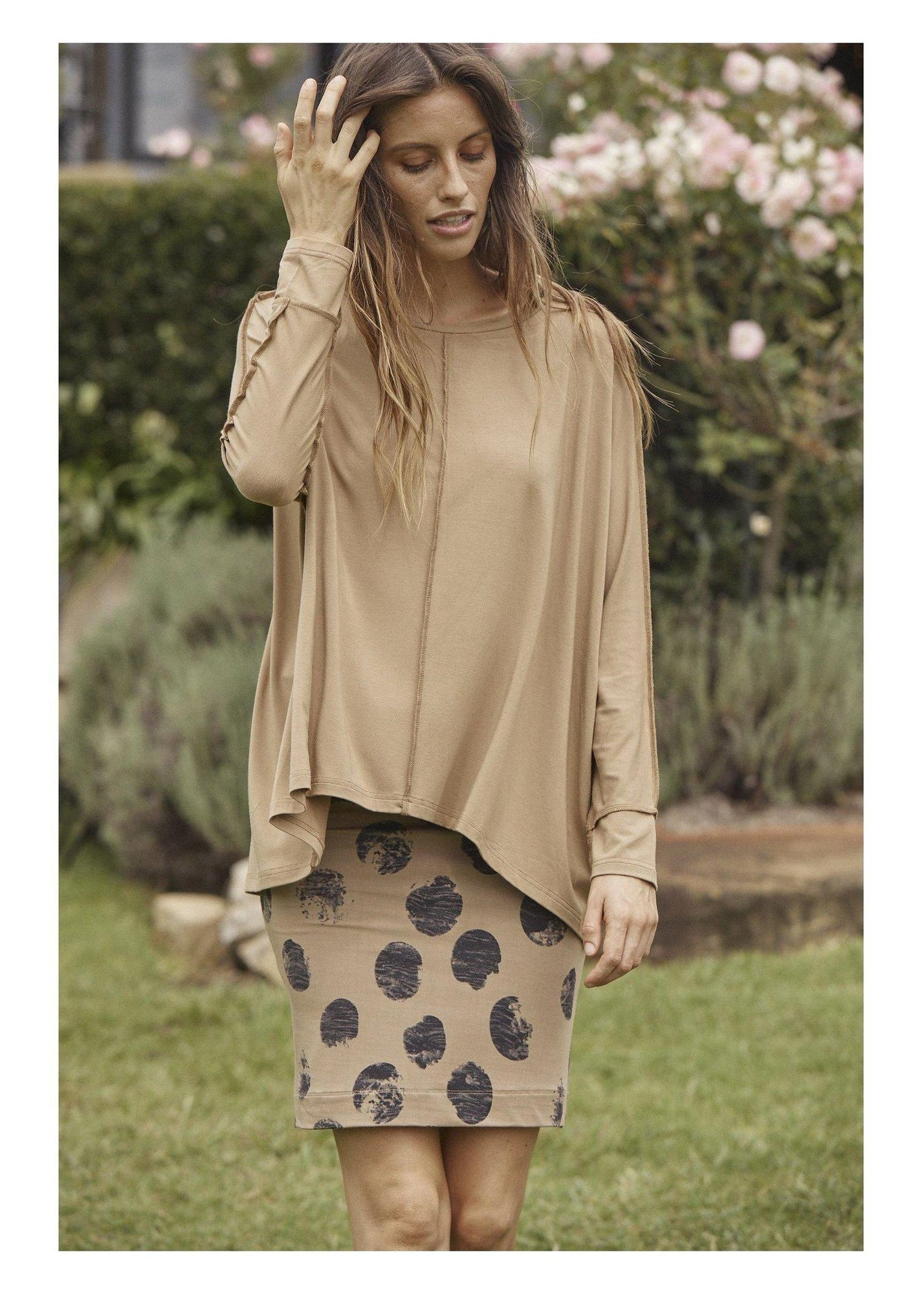 Stella Slouch Tee Sleeved-Unclassified-Lou Lou Australia