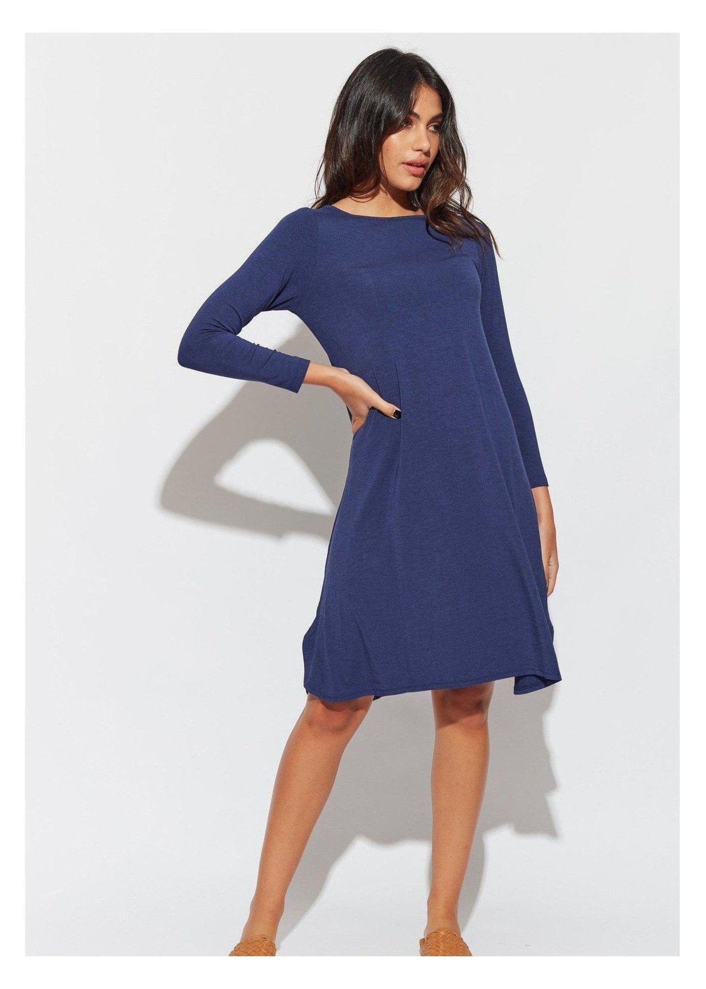 Cher Dress Sleeved-Unclassified-Lou Lou Australia