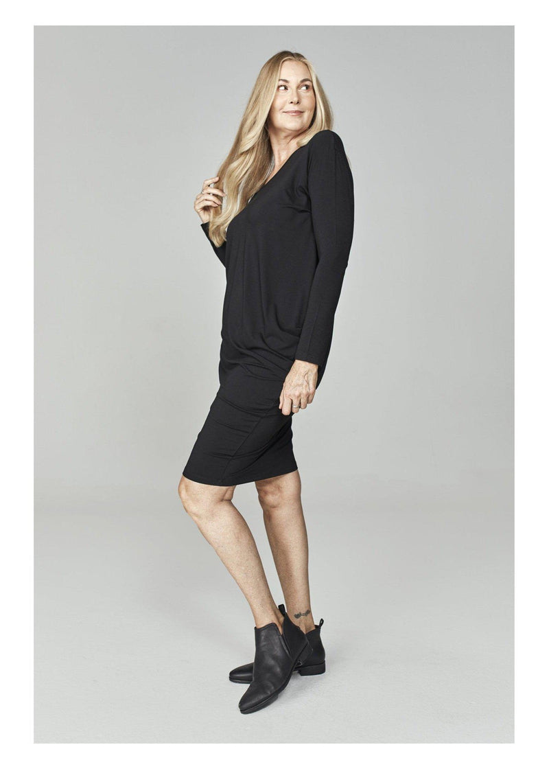 Nora Dress Sleeved-Unclassified-Lou Lou Australia