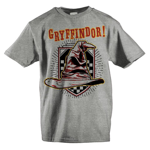 Harry Potter Shirt Short Sleeve Youth Gryffindor Shirt - The Hollywood Apparel