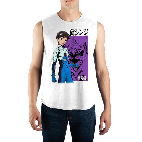 Mens-Apparel-Anime-Graphic-Muscle-Tank - The Hollywood Apparel