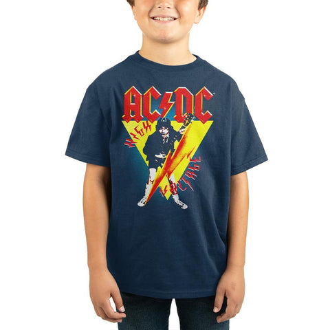 ACDC Rock Band Youth Short Sleeve Shirt - The Hollywood Apparel