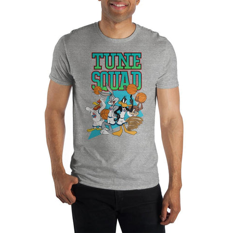 Space Jam Tune Squad Grey Shirt - The Hollywood Apparel
