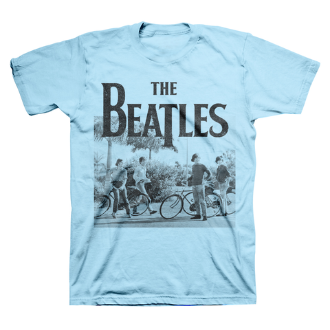 THE BEATLES | BICYCLE T-SHIRT - The Hollywood Apparel