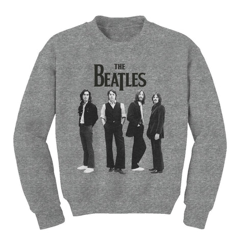 THE BEATLES | STANDING PHOTO FLEECE - The Hollywood Apparel