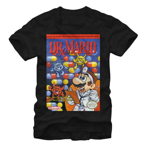 Dr Mario T Shirt - The Hollywood Apparel