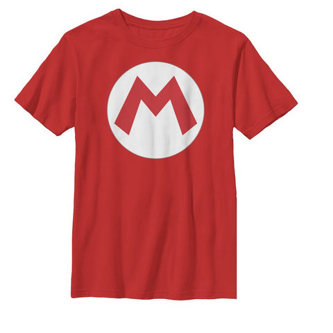 Youth Mario Icon - T Shirt - The Hollywood Apparel