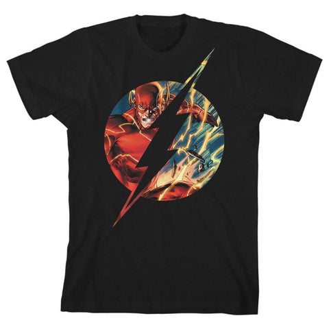 Boys Flash TShirt Superhero Clothing Youth Justice League Shirt - The Hollywood Apparel