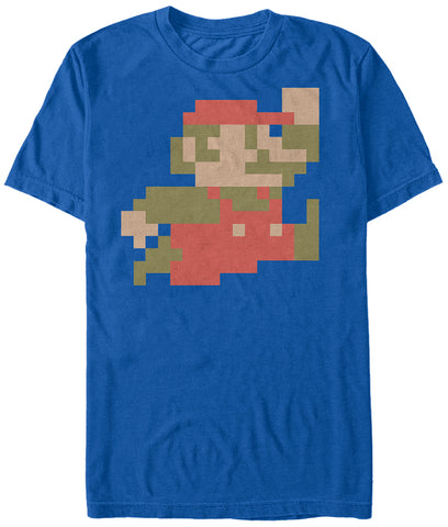 8 Bit Super Mario T Shirt - The Hollywood Apparel