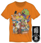 Nickelodeon 90s Cartoon Characters T Shirt - The Hollywood Apparel